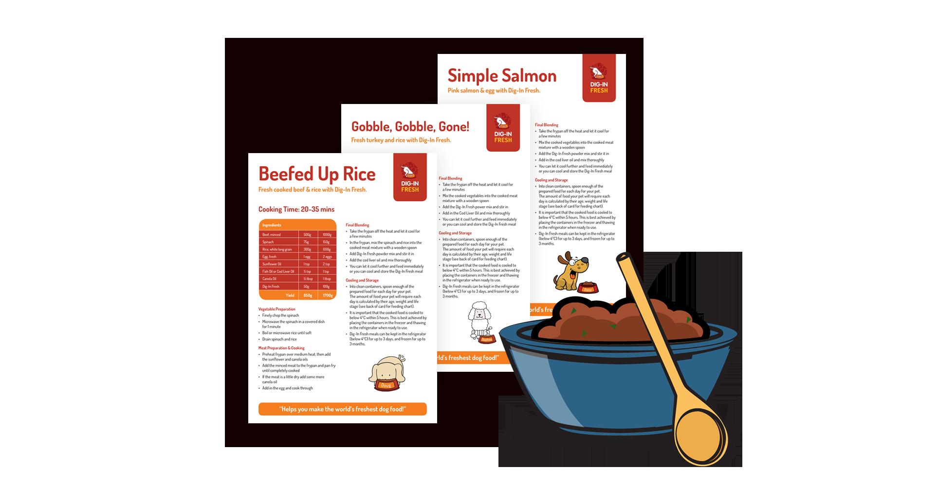NEW DIY Dog Food Recipes